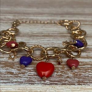 Free Press Charm Bracelet
